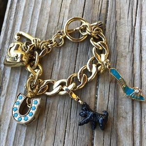 Juicy Couture Scottie, Stiletto Charm Bracelet!